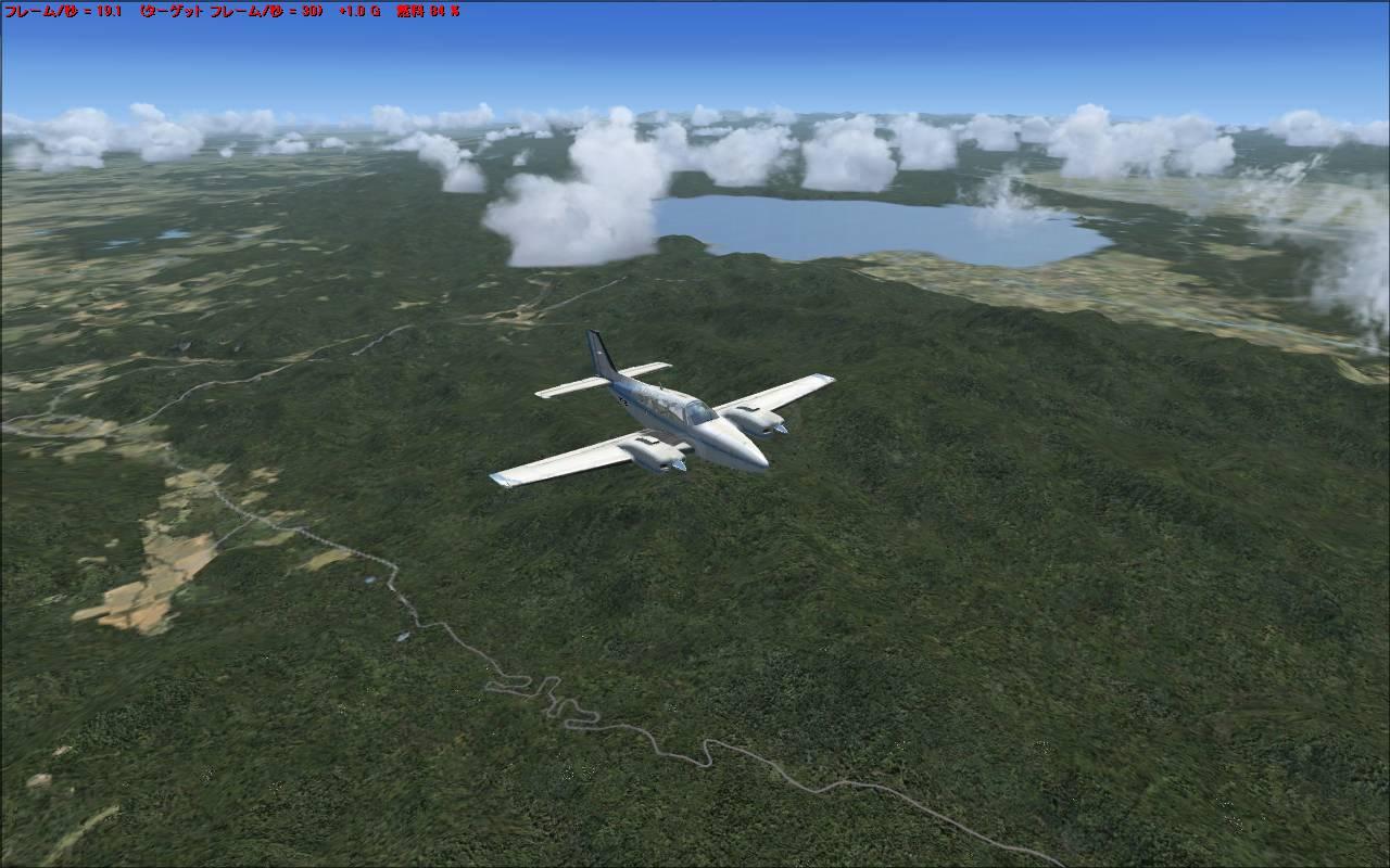 RJTT → RJCC 新千歳空港 – over the sky